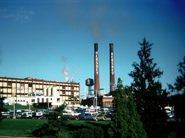 Hershey Chocolate Company Factory in Hershey, PA