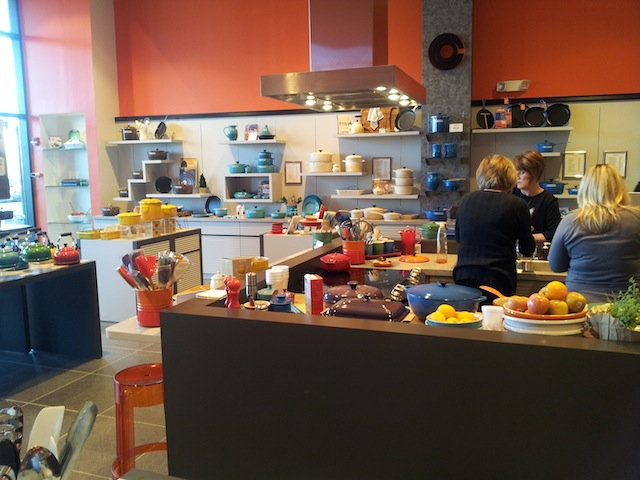 Le Creuset Cooking Demonstration Store Leawood Kansas