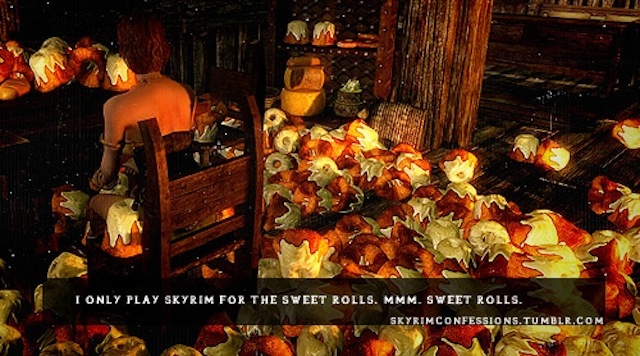 Skyrim Sweet Rolls Addiction Full