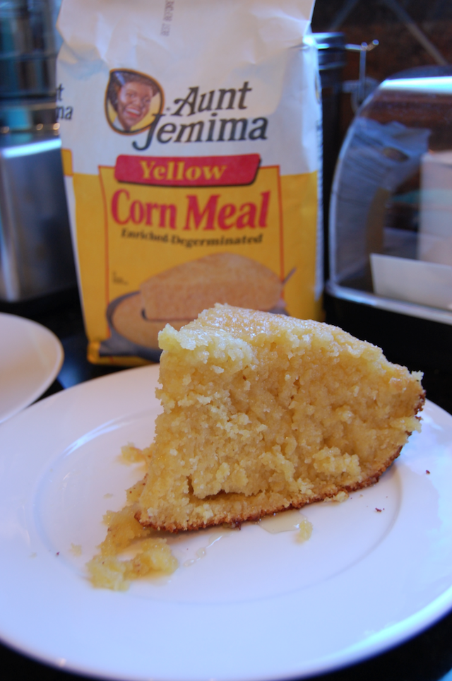 Deep Dish Corn Bread Cooked In Dutch Oven