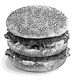 McDonald's Big Mac Engraved Joshua Kennon