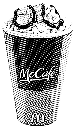 McDonald's Coffee Engraved Joshua Kennon