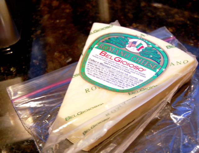 Romano Cheese for Alfredo Sun Dried Sauce