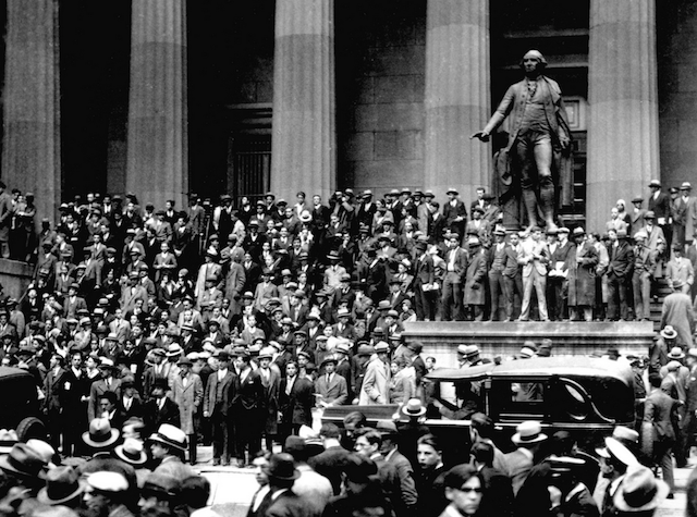 Black Thursday 1929 Crash