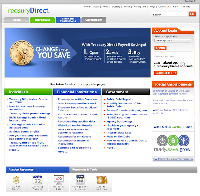 TreasuryDirect