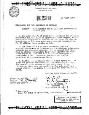 Operation Northwoods Cover