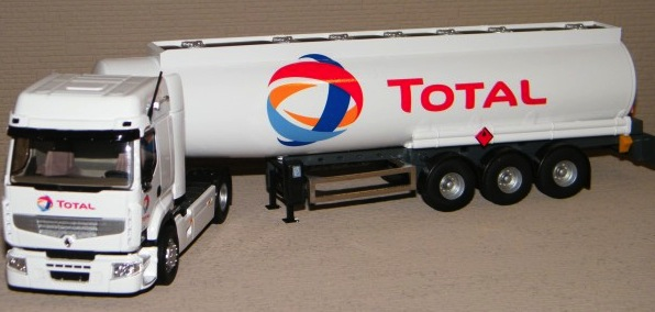Total Oil Truck Replica
