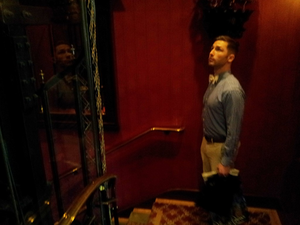 Aaron Leaving Club 33