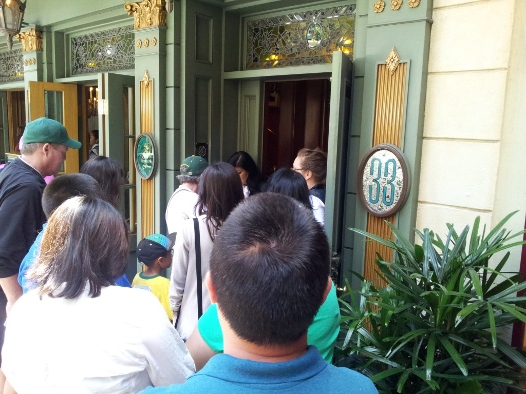 Being Let Back Into Club 33 After the Fire Alarm