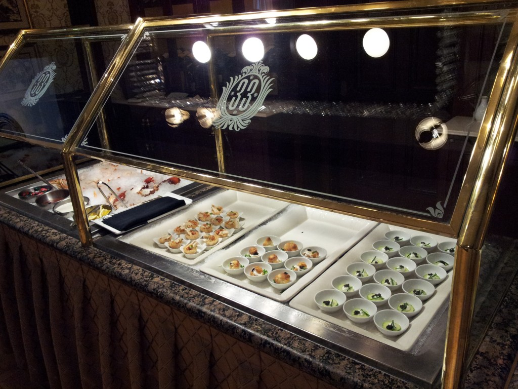 Club 33 Appetizer Bar