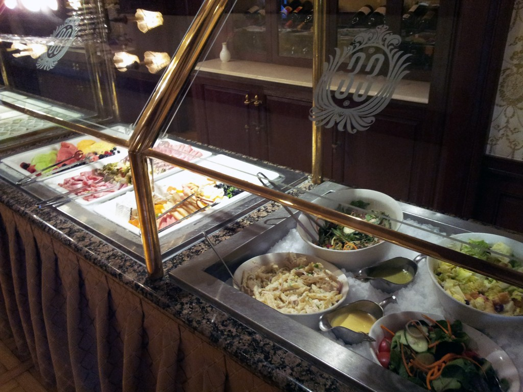 Club 33 Appetizer Bar and Cheese Board