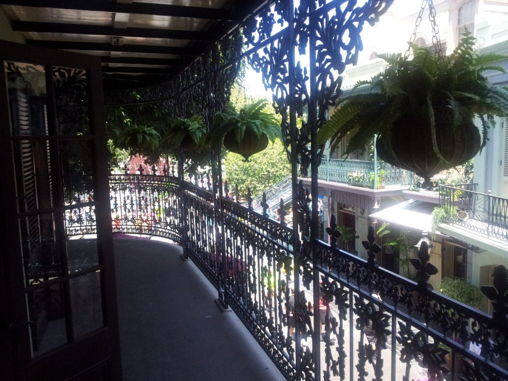 Club 33 Balcony Disneyland