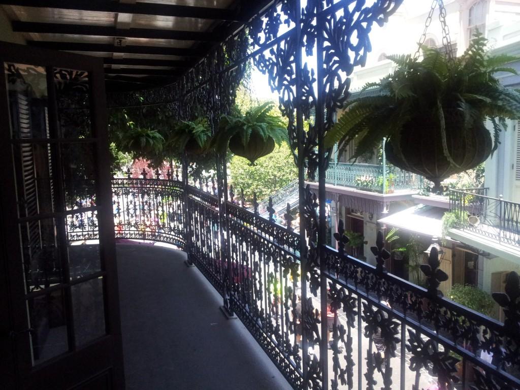 Club 33 Balcony Disneyland