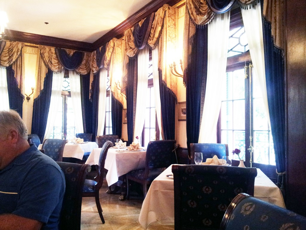 Club 33 Dining Room Disneyland California