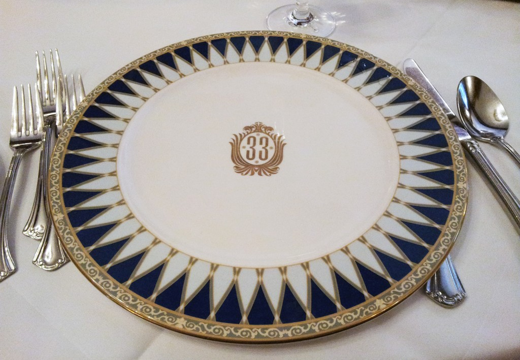Club 33 Fine China Disneyland
