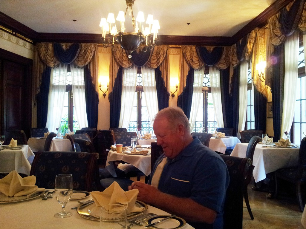 Club 33 First Empire Dining Room