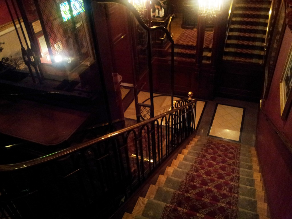 Club 33 Lobby Looking Down