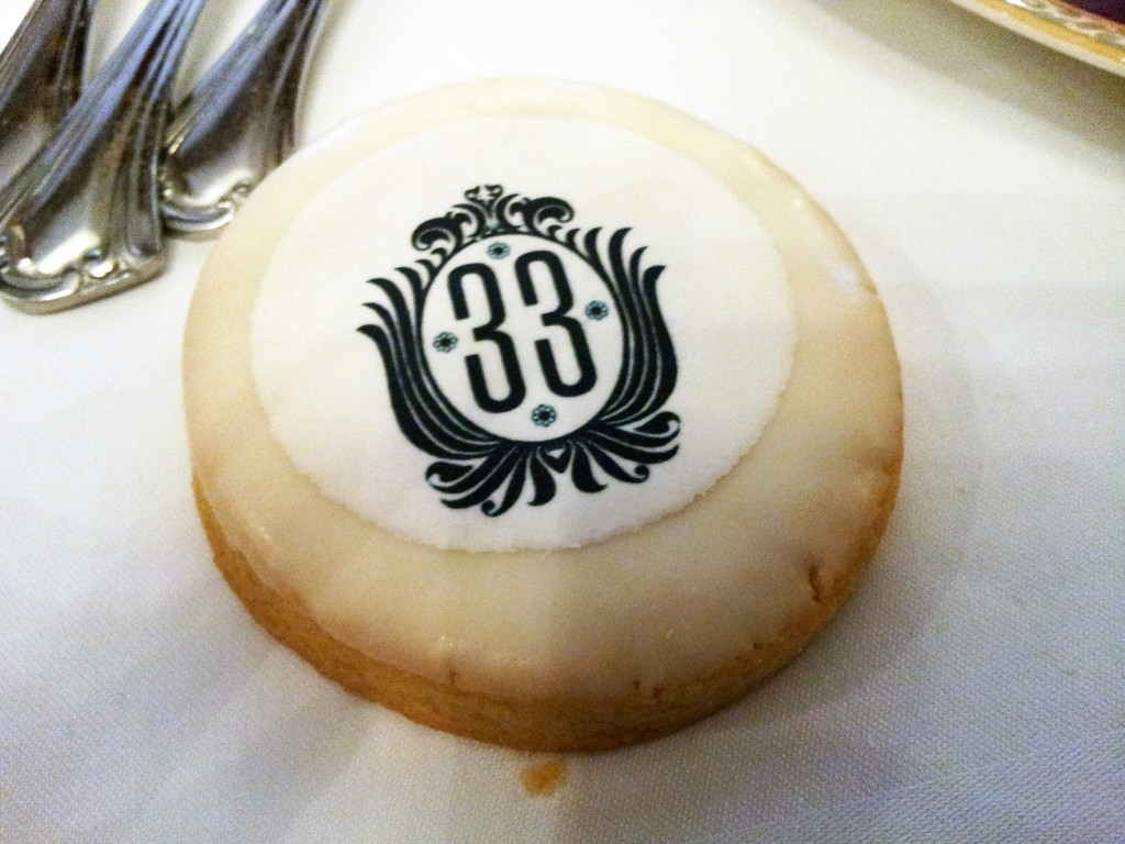 Club 33 Sugar Cookie