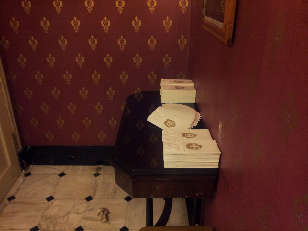 Club 33 Towel Station