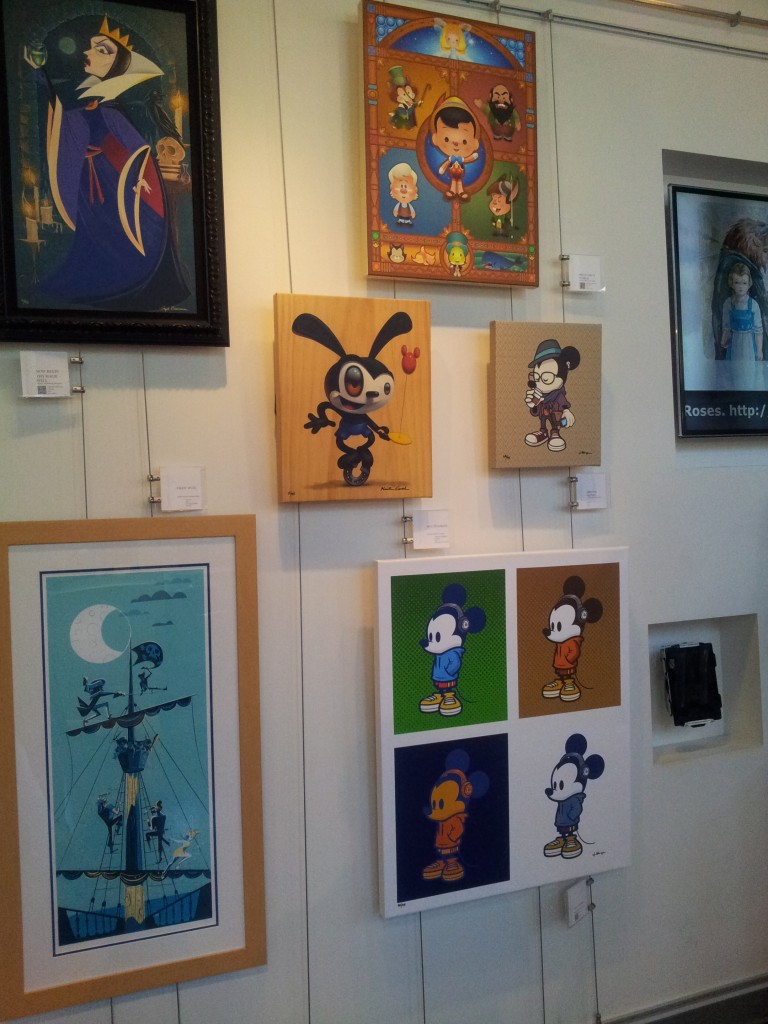 Disney Art Gallery Downtown Disney at Disneyland
