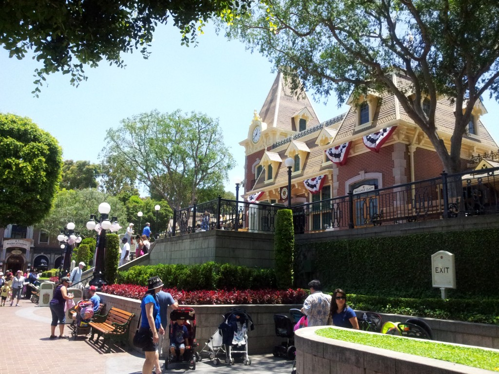 Disneyland Perfect Landscaping