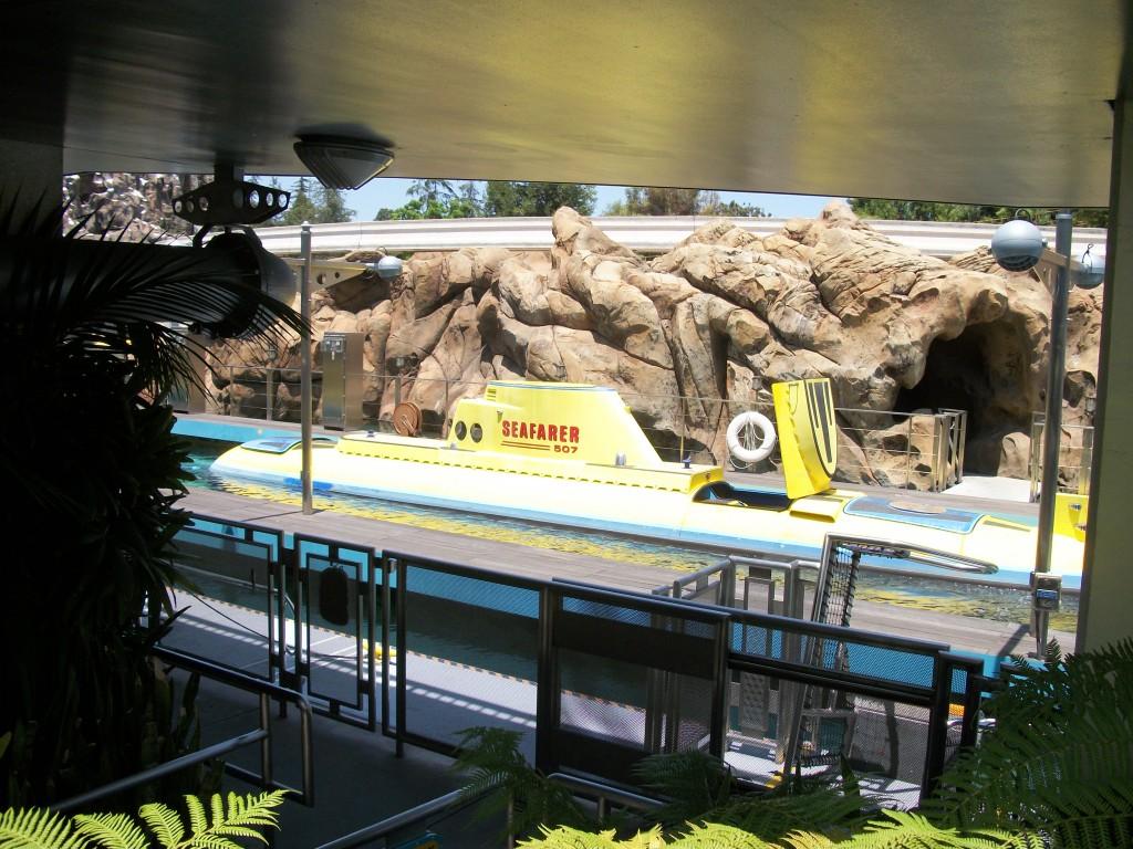 Disneyland Submarines