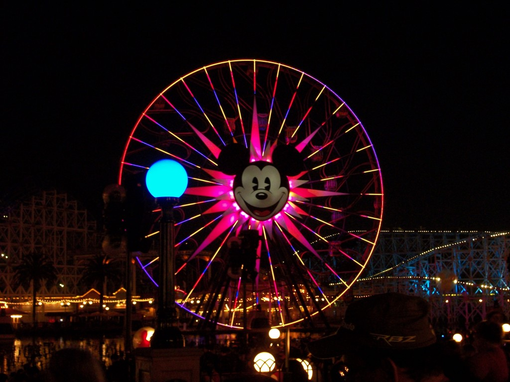 Joshua Kennon Aaron Green World of Color Disneyland