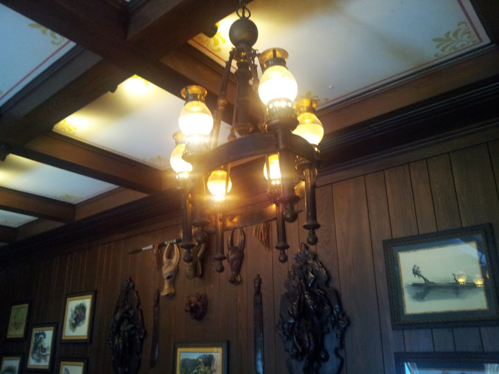 Microphones Hidden in Club 33 Lights