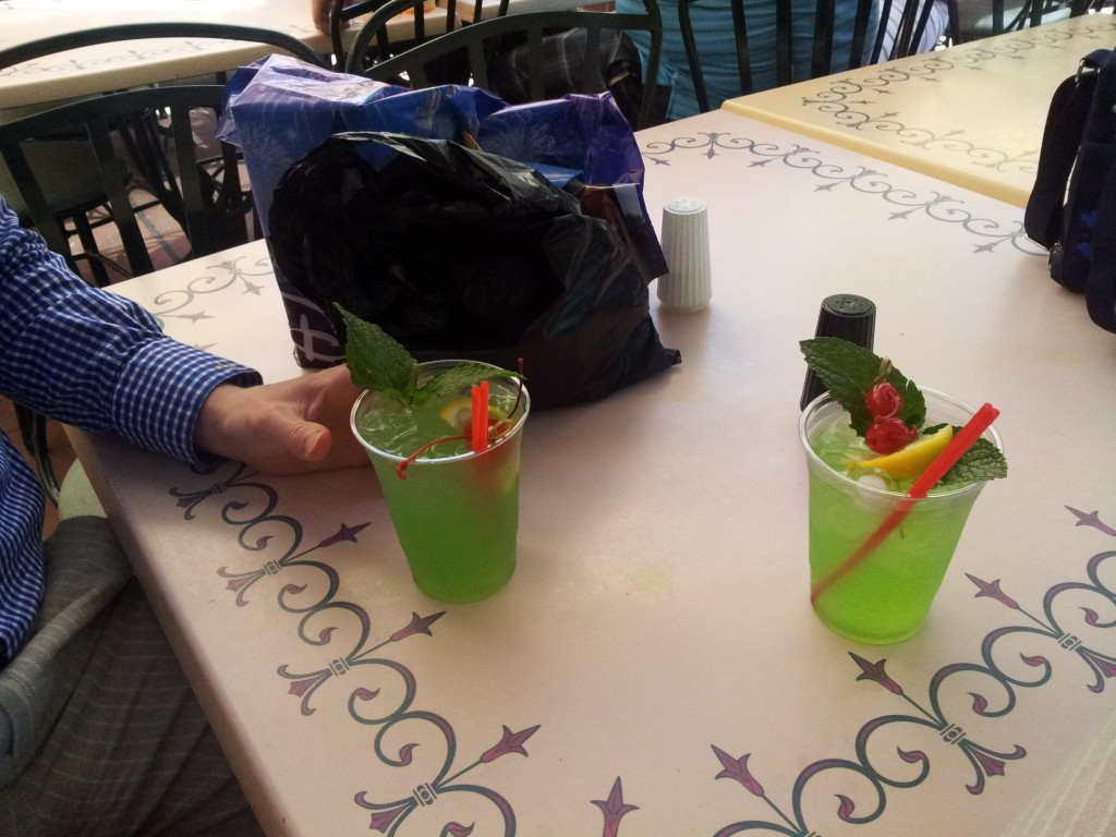 Mint Juleps after Club 33