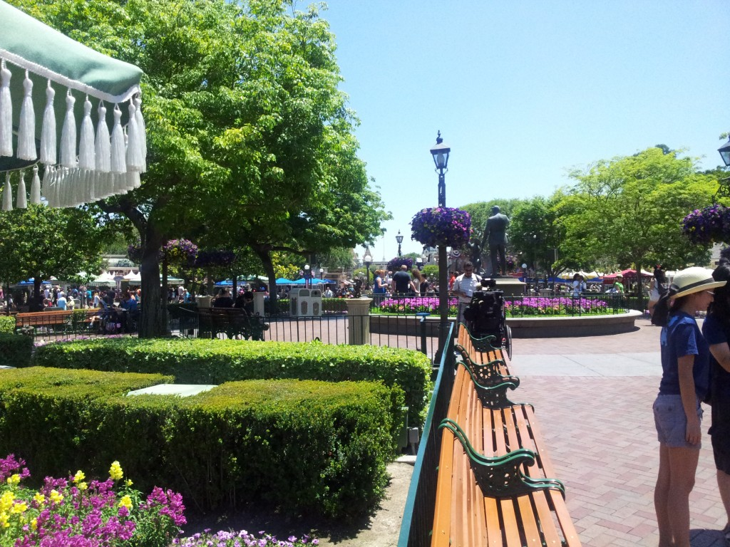 More Disneyland Landscaping