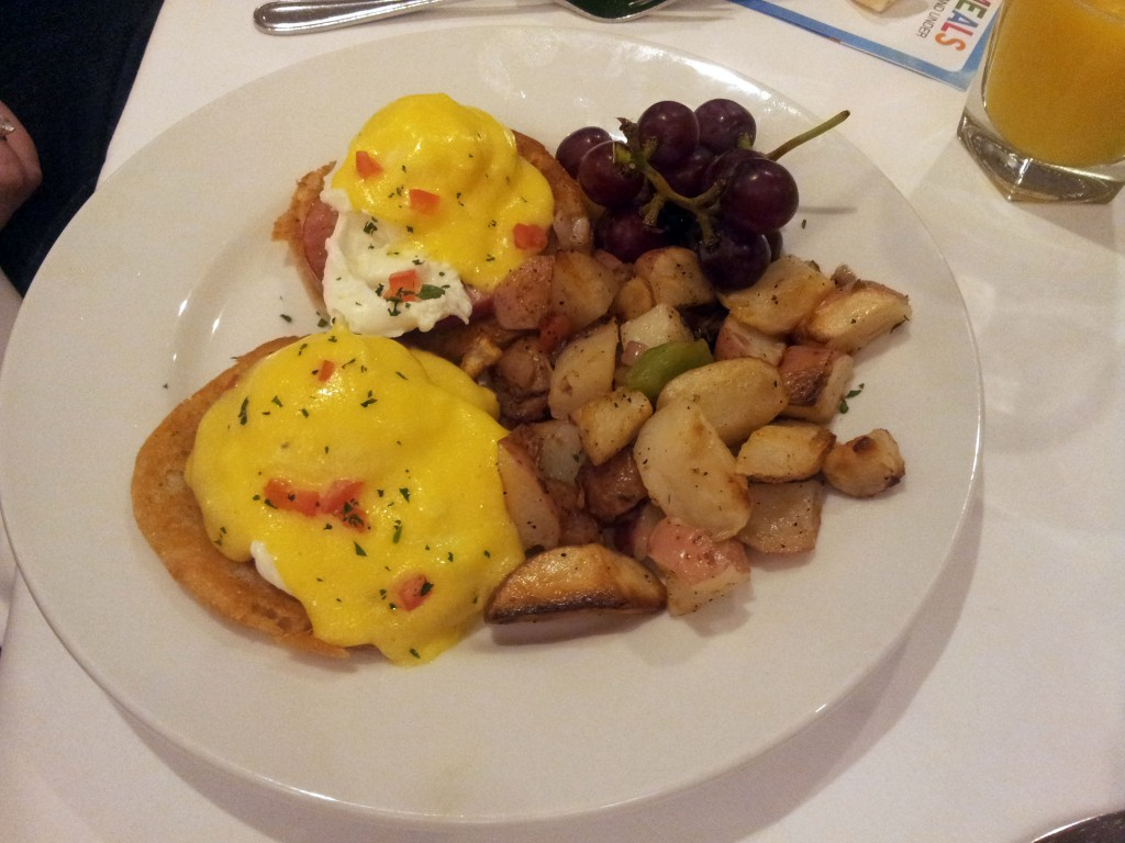 Steakhouse 55 Eggs Benedict