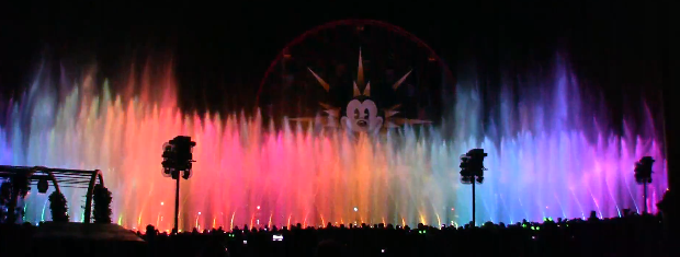 The World of Color Disney
