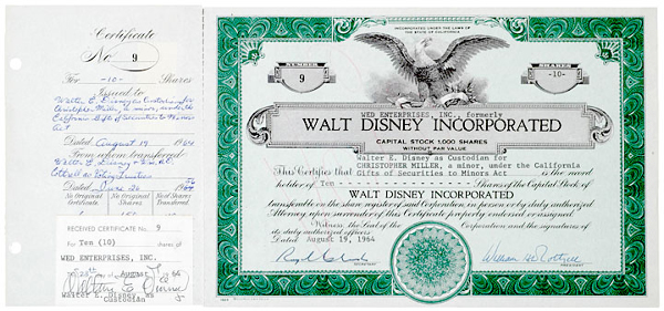 WED Enterprises Disney Private Holding Company