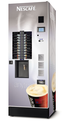Nestle Nescafe Vending Machine