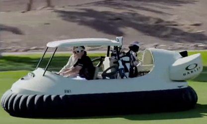 Bubba's Hover Craft Golf Cart