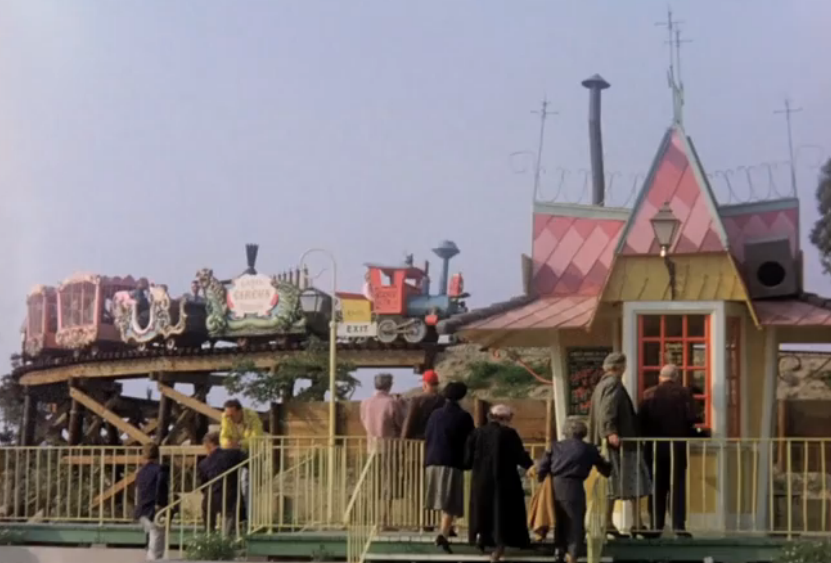 Disneyland in 1955 Film