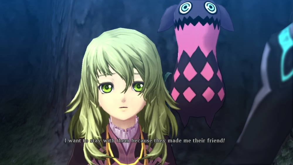 Tales of Xillia Elize and Teepo
