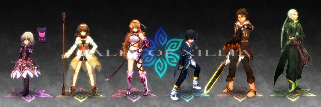 Tales of Xillia Playstation Collage