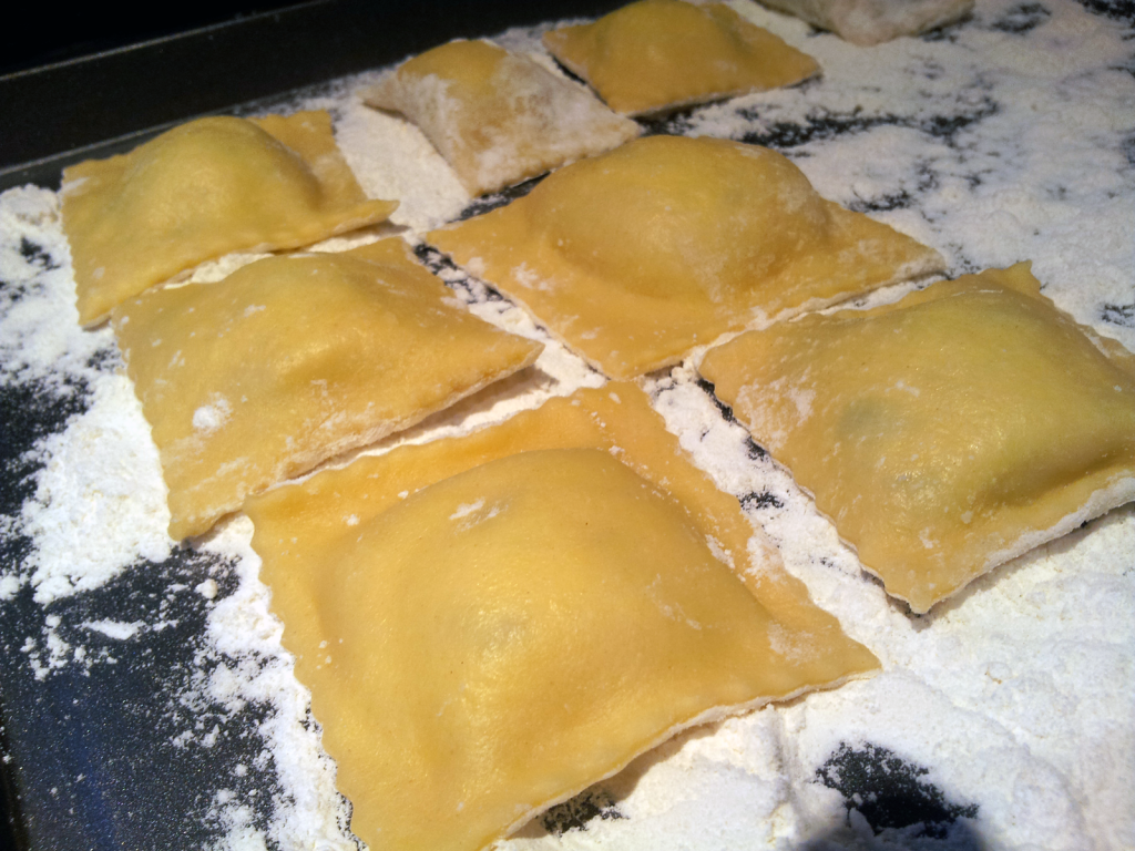 Homemade Stuffed Ravioli