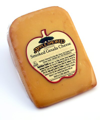 Red Apple Smoked Gouda Cheese