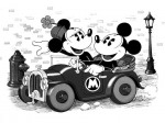 Mickey Mouse Walt Disney Dividend Stock