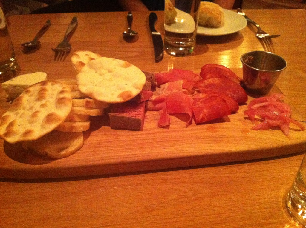 Providence New American Kitchen at Hilton President Meat and Cheese Board