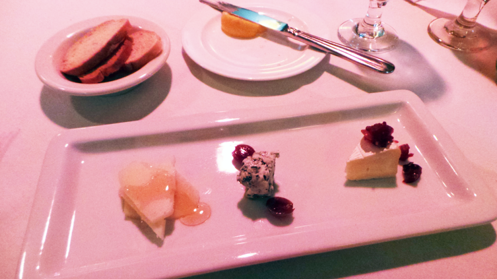 Artisan Cheese Plate from Pierpont's Restaurant in Union Station Kansas City