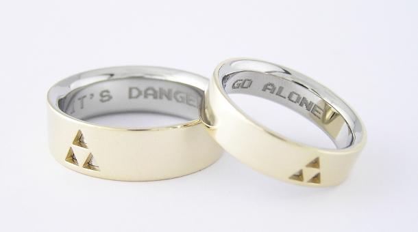 Zelda Wedding Rings
