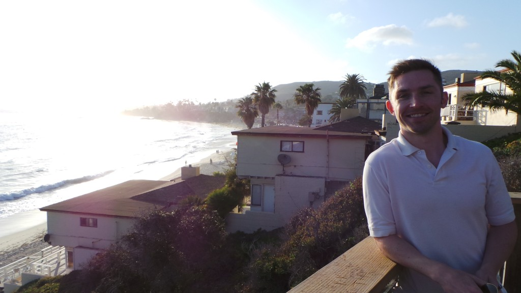 Aaron in Laguna Beach