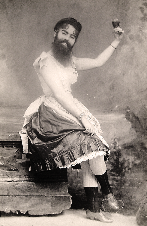Annie Jones Bearded Lady
