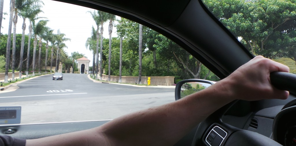 Another Gated Community in Newport Coast California