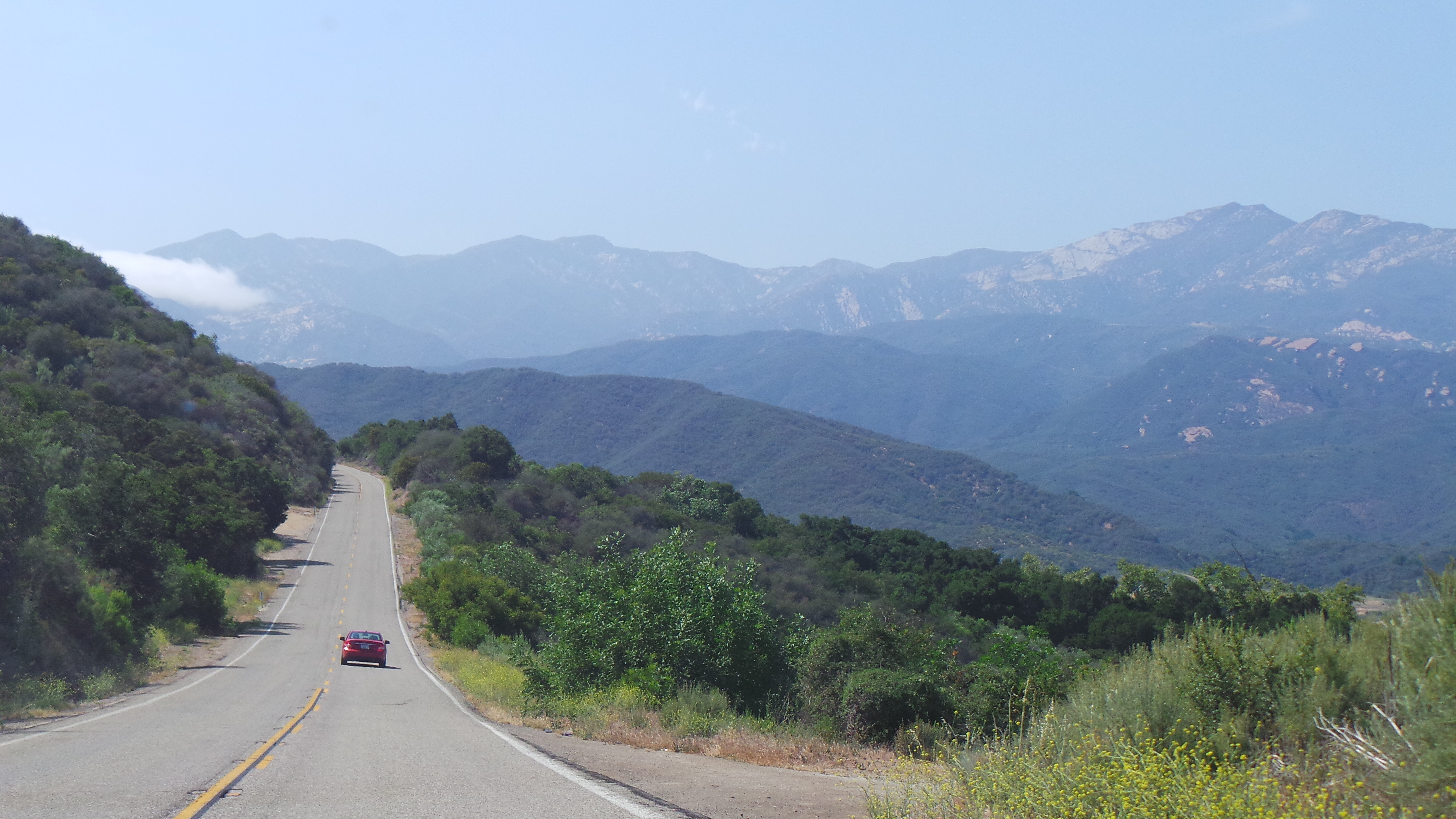 Beautiful Mountains on Way to Ojai