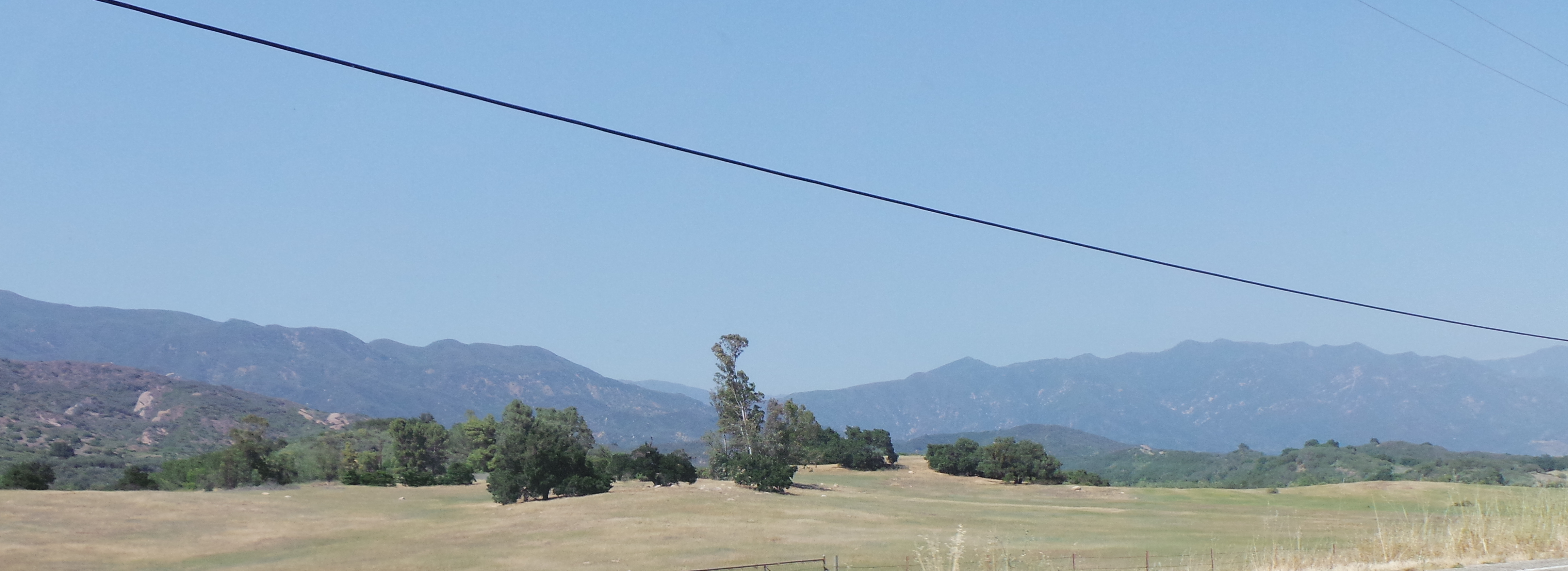 Breathtaking California Landscape on Way to Ojai