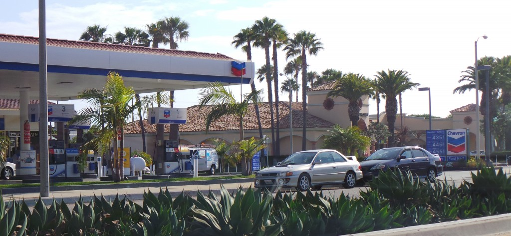 Chevron Gas Station Malibu